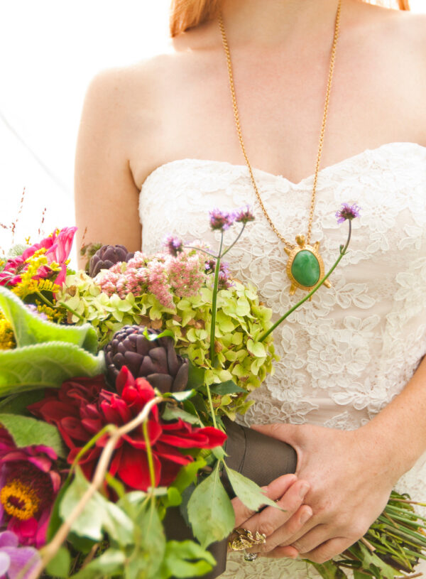 Colorful Vintage Wedding