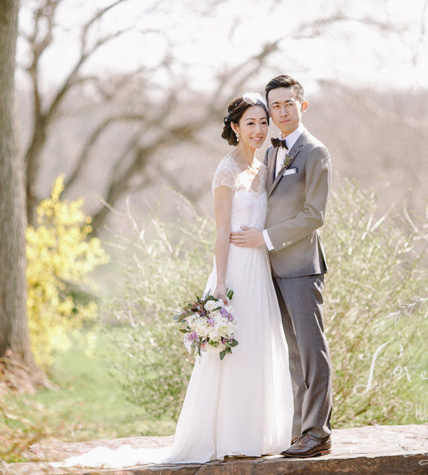 Lavender and Berry Inspired Wedding