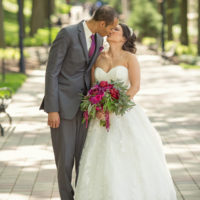 A Bright and Colorful Wedding