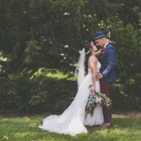 A Fun-Filled Burgundy Wedding