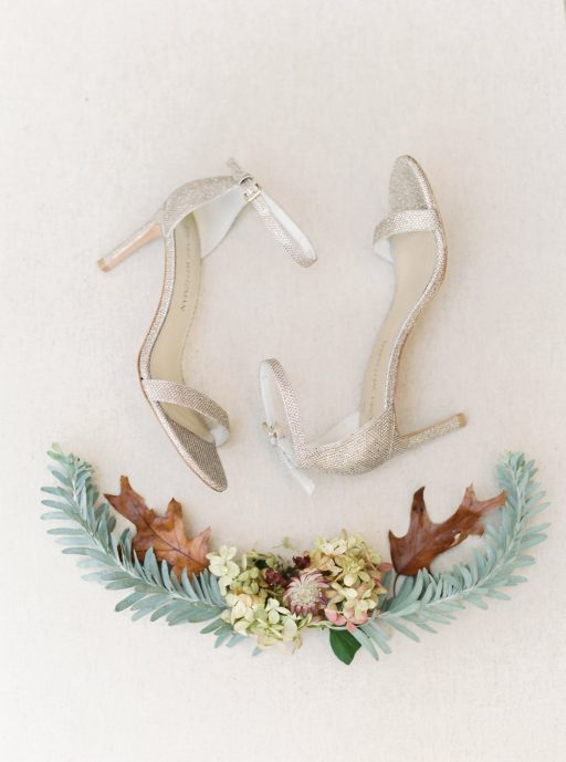 Blush, sage green, peony, fall wedding detail shot
