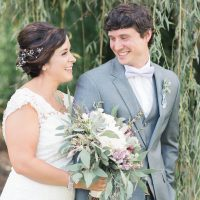A Lavender Garden Wedding