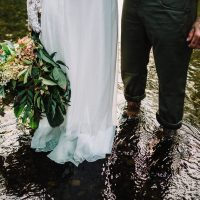 A Greenery Micro Wedding Shoot