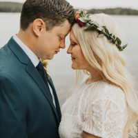 A Camp Inspired Wedding