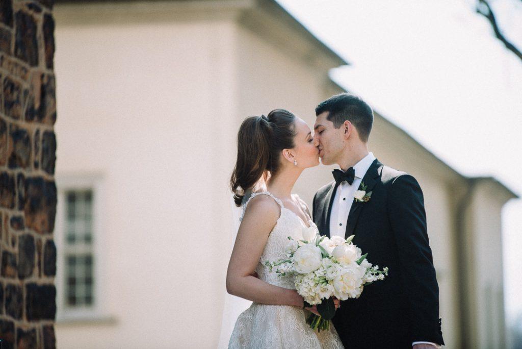 white hydrangea, peonies, tulips, stock, majolica, spring wedding, classic, bride and groom