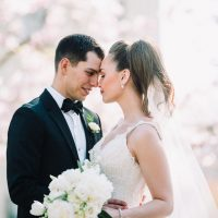 Spring Wedding with Beautiful White Florals