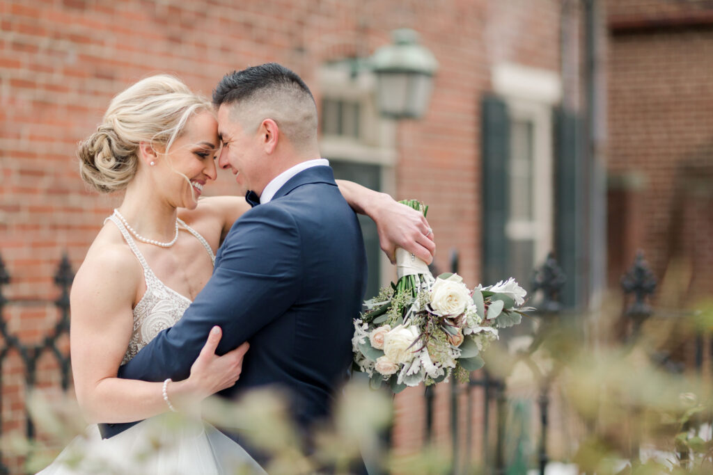grey-green, plum, cream and a hint of blush, traditional, modern, winter wedding, roses, spray roses, ranunculus, bride and groom.