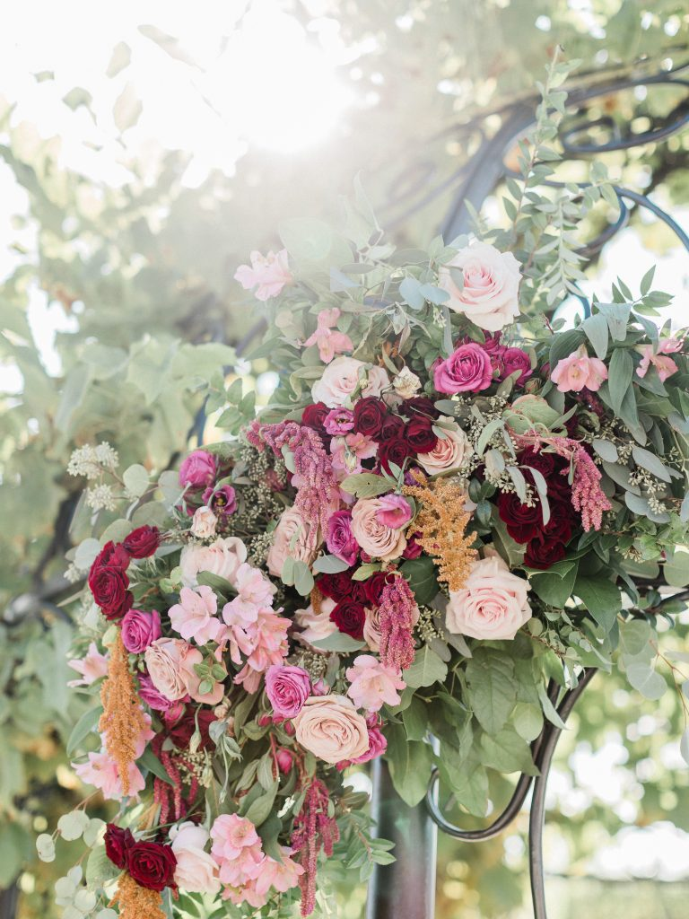floral, boho, colorful, anthropologie-esque, marsala, pink, green, cream, gold, hint of raspberry, arbor florals.