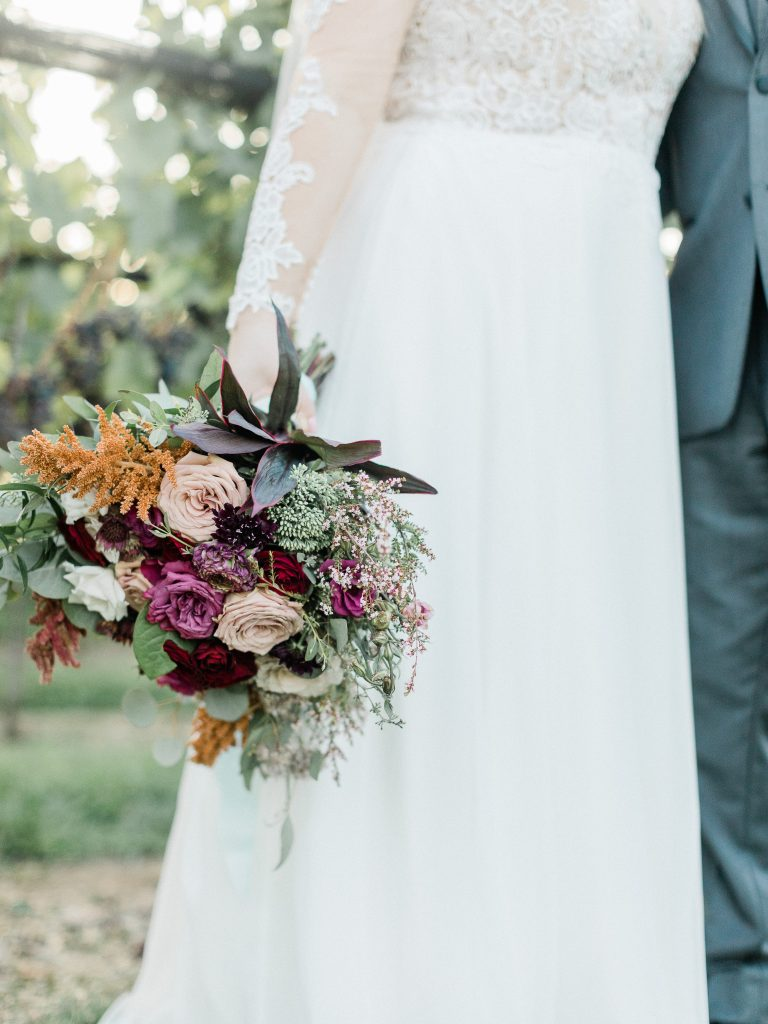 floral, boho, colorful, anthropologie-esque, marsala, pink, green, cream, gold, hint of raspberry, bride and groom.
