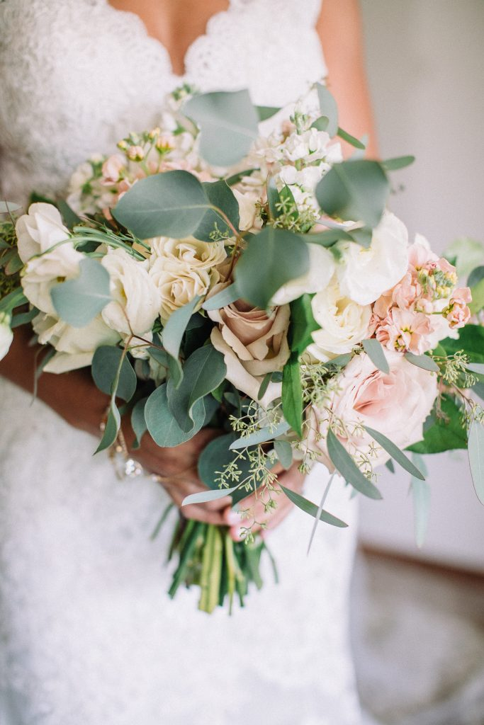 whimsical, boho, enchanted, secret garden, summer wedding, cream, blush, greenery florals, bridal bouquet.