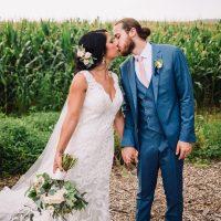 whimsical, boho, enchanted, secret garden, summer wedding, cream, blush, greenery florals, bride and groom.