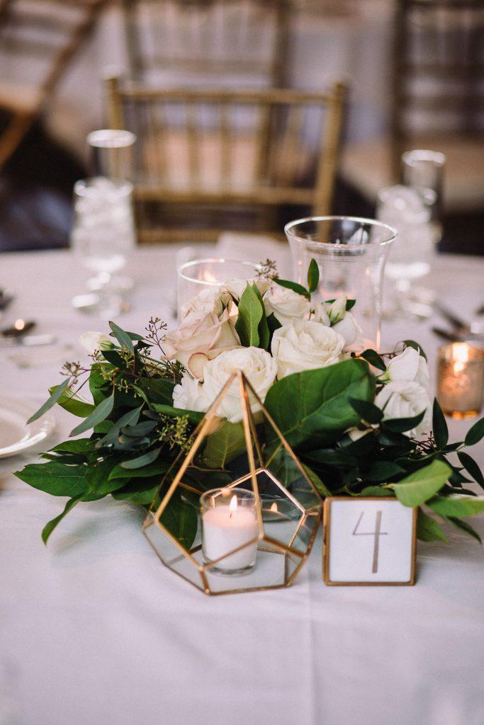 whimsical, boho, enchanted, secret garden, summer wedding, cream, blush, greenery florals, reception, terrariums, centerpiece.