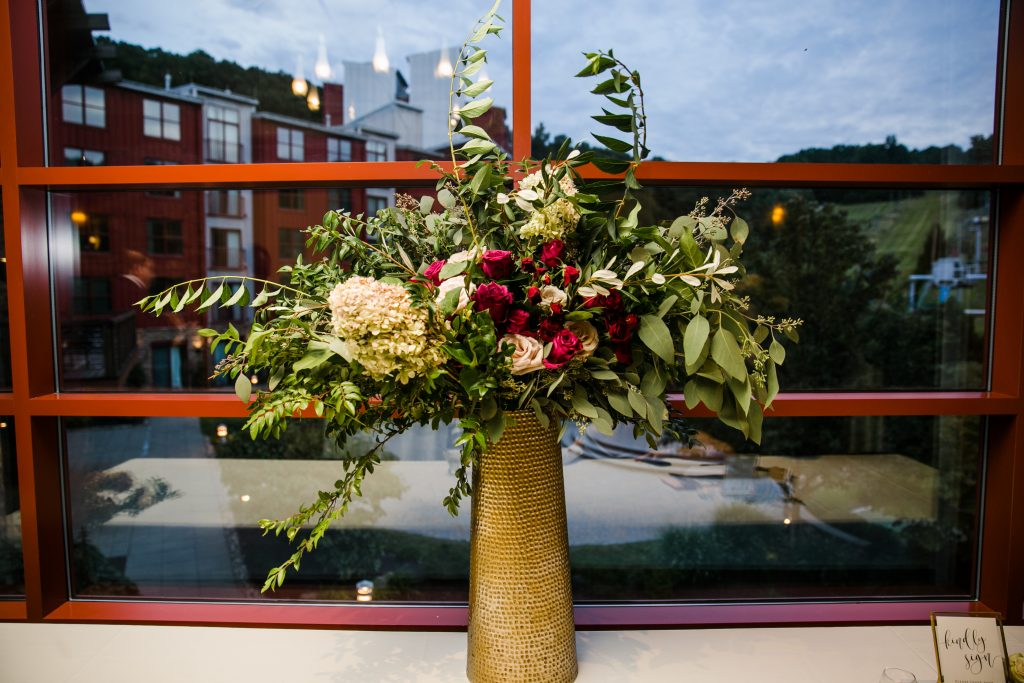 Ethereal, romantic, woodland, burgundy, blush, plum, organic florals, altar florals.