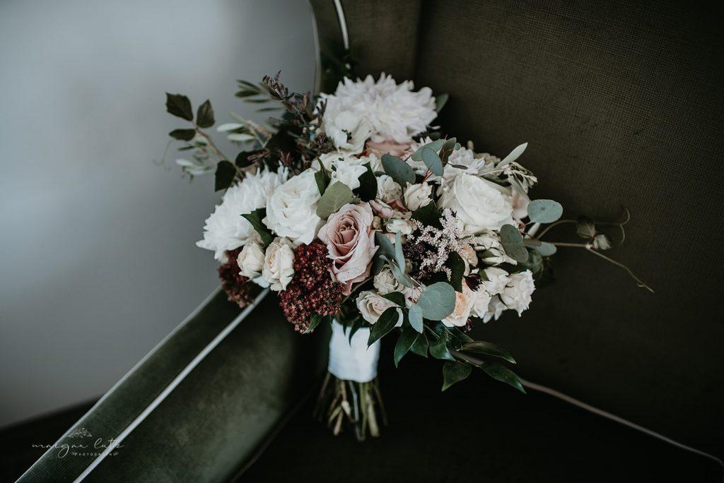Lehigh Valley Wedding, wedding, fall wedding, delicate, perfection, romantic, ethereal, greens, whimsical, burgundy, navy, blush, cream, peach, elegant, garden, bridal bouquet.