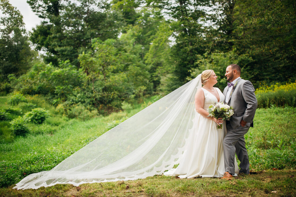 Fall wedding, lehigh valley wedding, golf course wedding, rustic barn, lavender, wheat, casual, laid back, bride and groom.