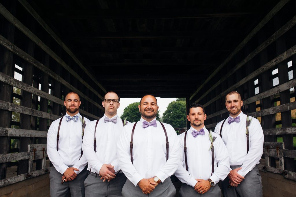 Fall wedding, lehigh valley wedding, golf course wedding, rustic barn, lavender, wheat, casual, laid back, floral details, groom and groomsmen.