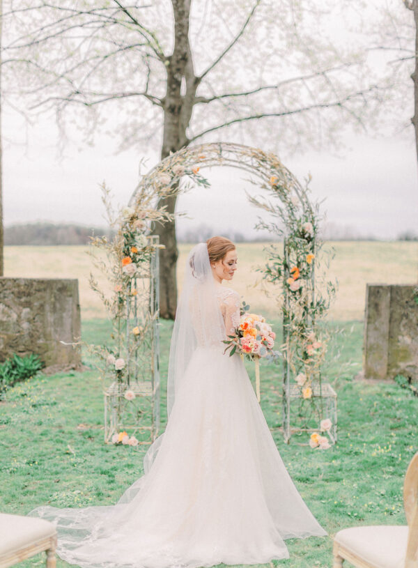 Charming Coral Spring Styled Shoot