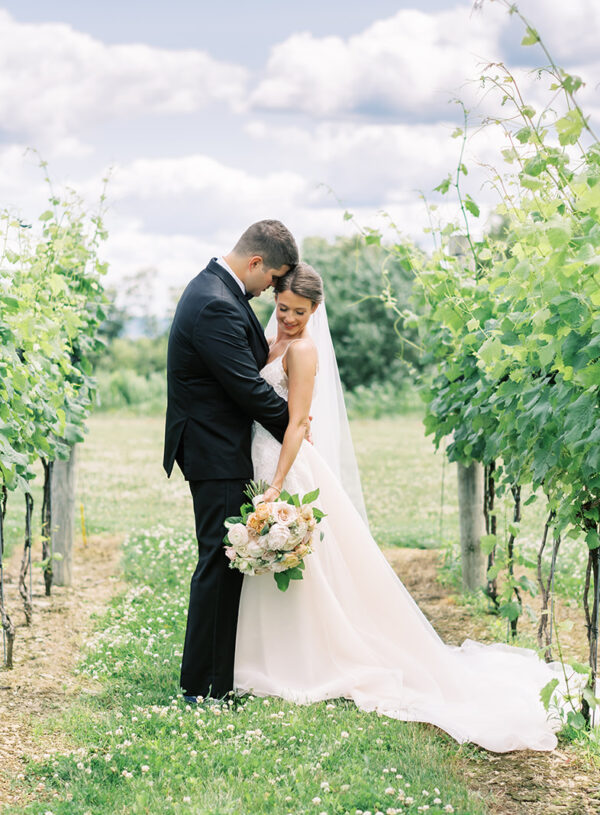 Elegant June Vineyard Wedding