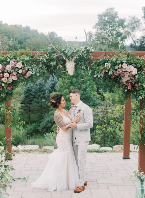 Modern, Rustic and Mauve Wedding: Devin and Shawn