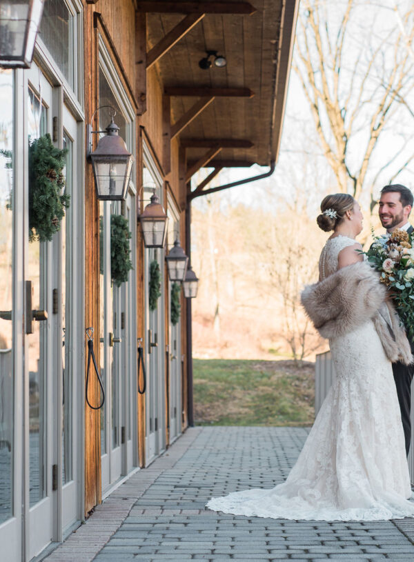 Winter Weddings: Naturally Beautiful Muted Color Palettes