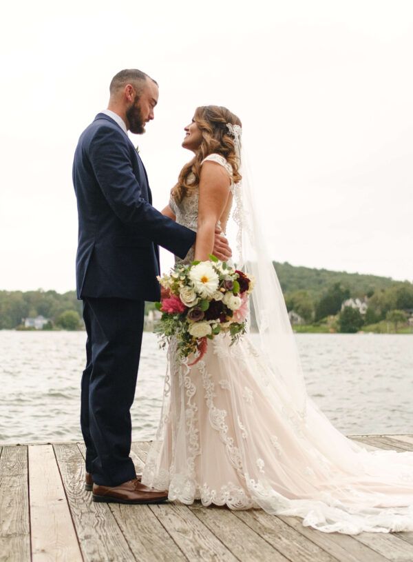 Timeless Lakeside Fall Wedding