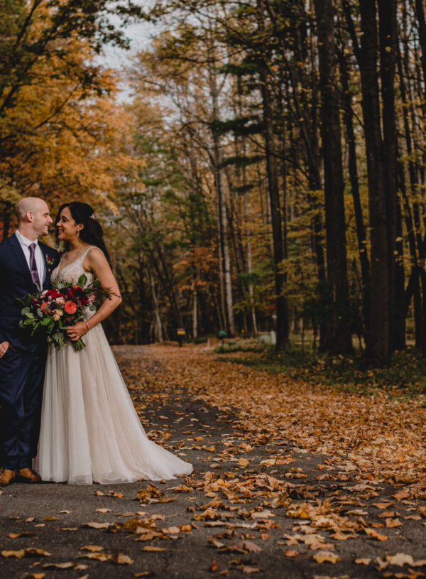 Rustic Autumn Wedding in the Crisp Mountain Air
