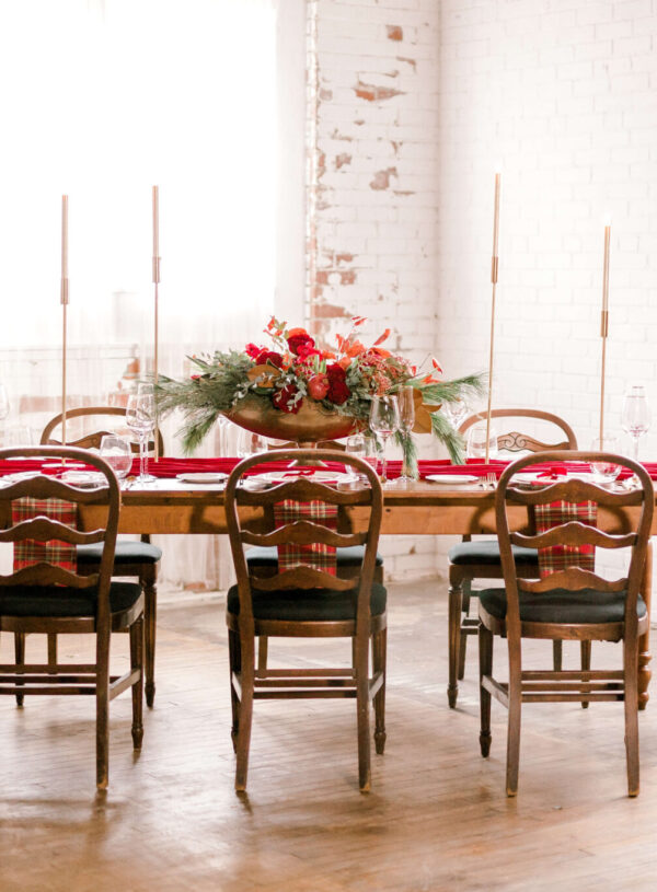 Creating Your Holiday Tablescape: Classic Red and Green