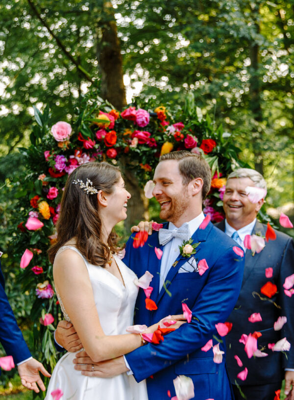 A Classic Colorful Wedding