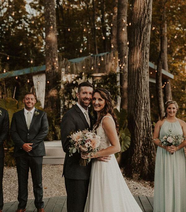 A Modern Twist on a Rustic Wedding