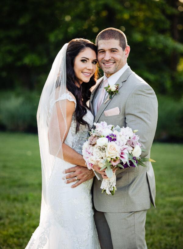 Sneak Peek: Soft Pinks & Purples at a Mountaintop Wedding