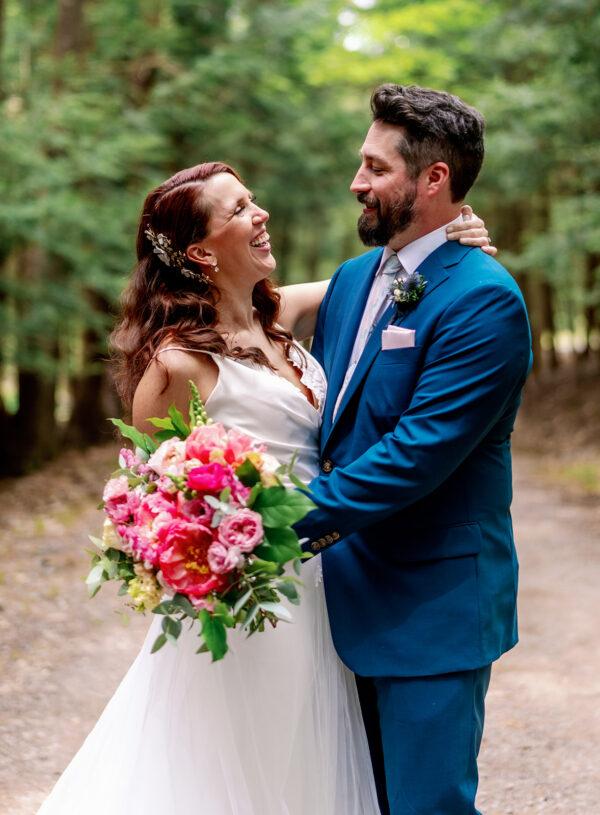 A Pastel Woodland Wedding