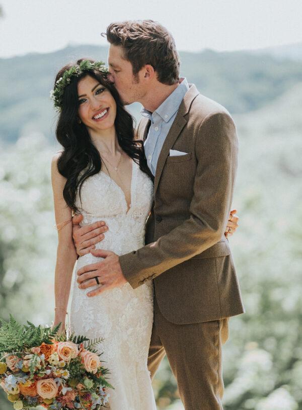 Intimate Woodsy Wedding