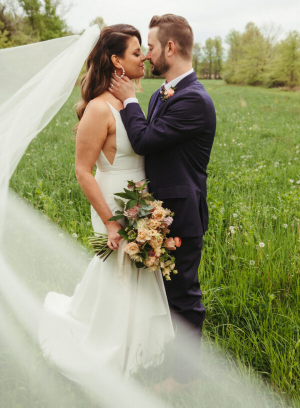 Dreamy Peachy Wedding