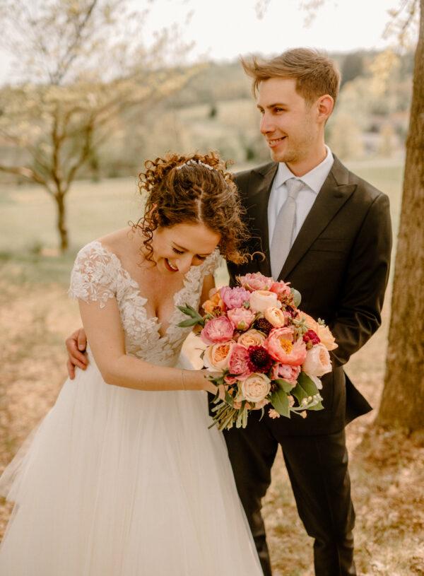 Simple & Classic Blush Wedding