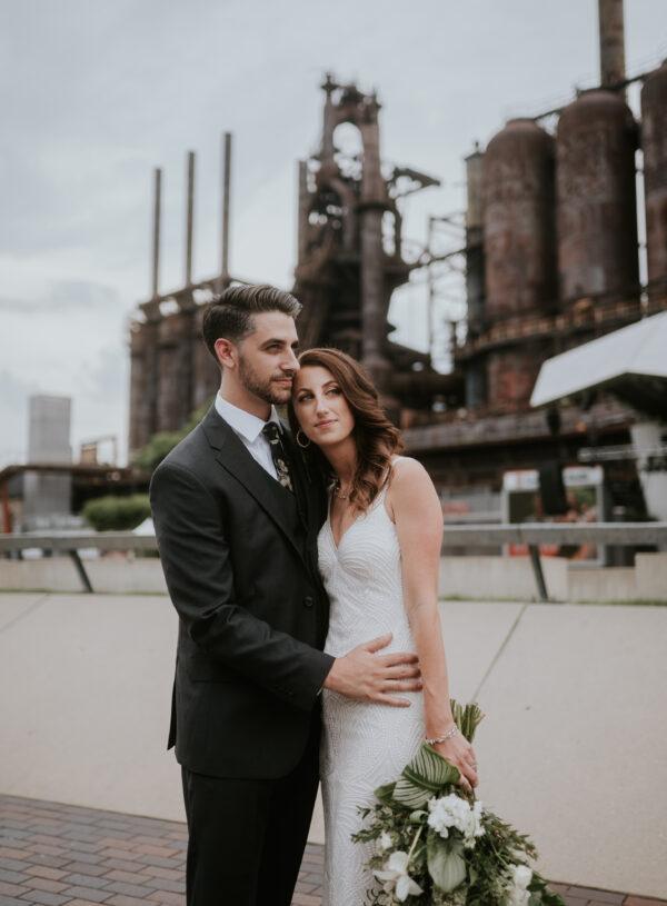 Industrial Chic: SteelStacks Wedding