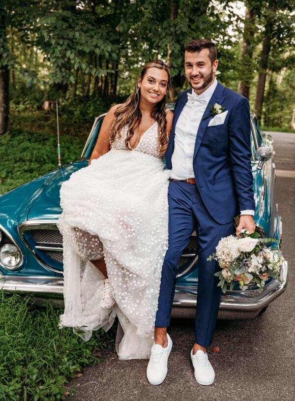A Dreamy Pastel Mountainside Wedding